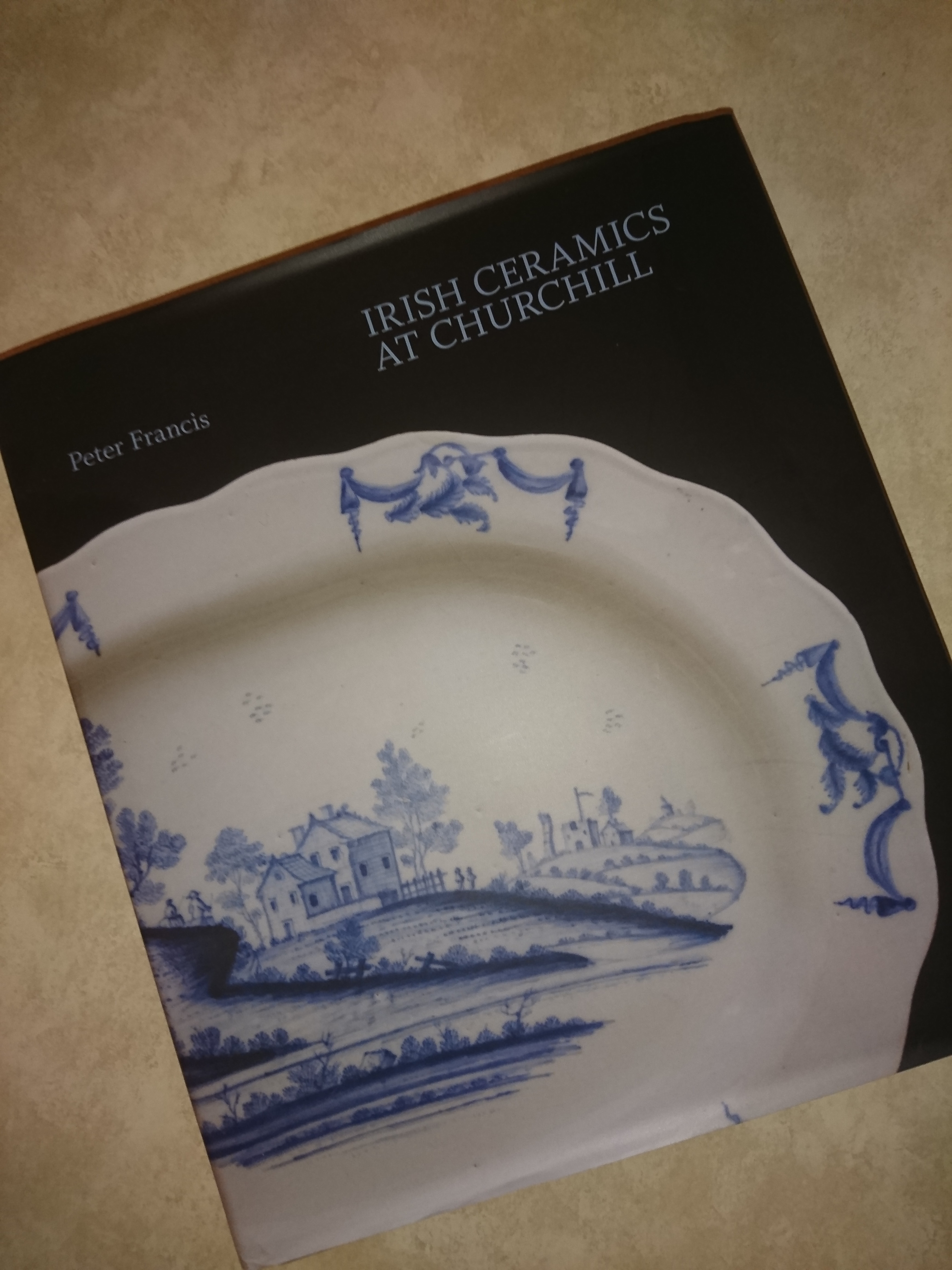 5d4169da221f24 ... of the blue and white earthenware made in Dublin s World s End pottery  in the eighteenth century